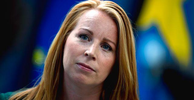 Annie Lööf, arkivbild. Pontus Lundahl/TT / TT NYHETSBYRÅN