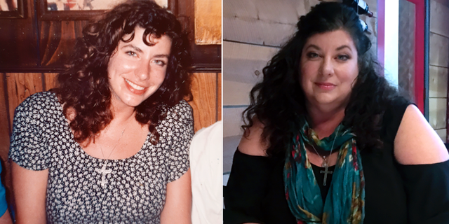 Tara Reade 1993 och 2019. TT
