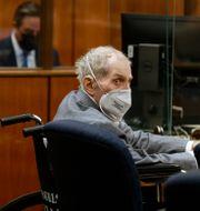 Robert Durst i rätten den 8 september. Al Seib / TT NYHETSBYRÅN