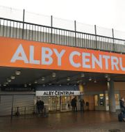 Alby centrum. Janerik Henriksson/TT / TT NYHETSBYRÅN
