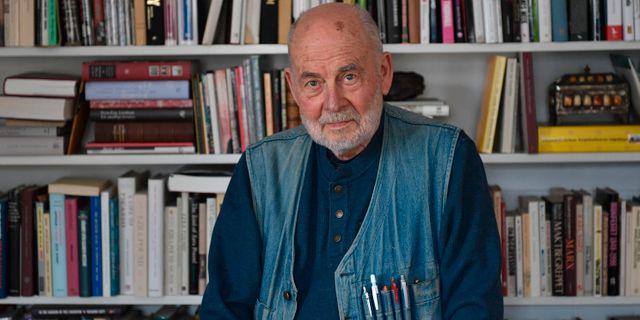 Sven Lindqvist. Hossein Salmanzadeh/TT / TT NYHETSBYRÅN