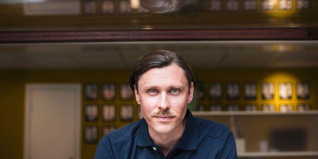 Andreas Hagvall.  Johan Strindberg