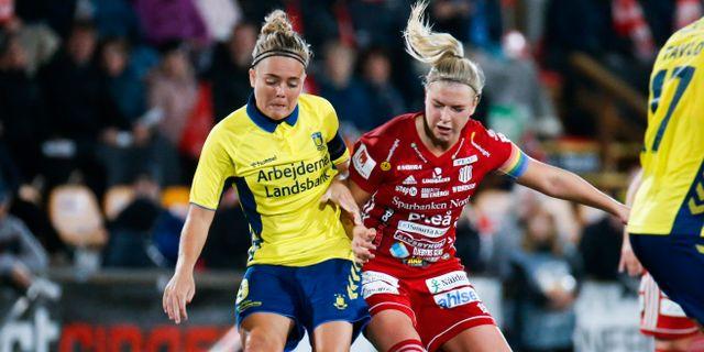 Brøndby mot Piteå i Champions League i september Pär Bäckström/TT / TT NYHETSBYRÅN