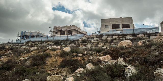 Israeliska bosättningar på Västbanken. Yvonne Åsell/SvD/TT / TT NYHETSBYRÅN