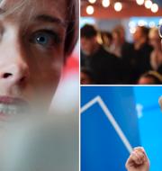 Annika Strandhäll (S) är kritisk till Ulf Kristerssons (M) och Ebba Busch Thors (KD) gemensamma budget. TT