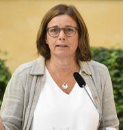 Isabella Lövin lämnar politiken  ALI LORESTANI/TT / TT NYHETSBYRÅN