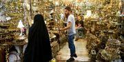 En bazar i Tehran. Ebrahim Noroozi / TT / NTB Scanpix
