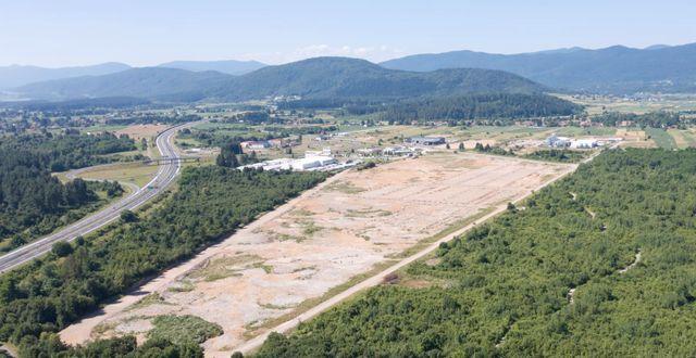Den nya fabriken kommer att ligga i anknytning till Bjelins befintliga parkettgolvsfabrik i staden Ogulin, Kroatien. Pressfoto