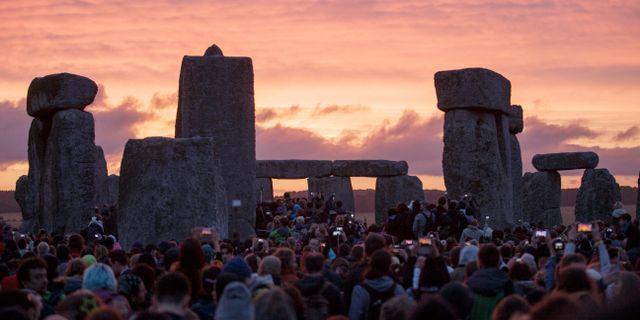 Stonehenge, 2015 Tim Ireland / TT NYHETSBYRÅN