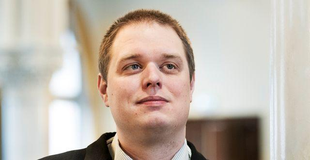 Jonas Millard.  Per Knutsson / TT / TT NYHETSBYRÅN