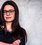 Helena Lindahl, Centerpartiets näringspolitiska talesperson. Magnus Hjalmarson Neideman/SvD/TT / TT NYHETSBYRÅN