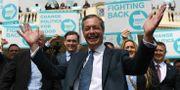 Nigel Farage. Joe Giddens / TT NYHETSBYRÅN/ NTB Scanpix