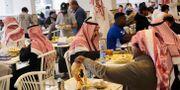En restaurang i Riyad i Saudiarabien.  Amr Nabil / TT NYHETSBYRÅN