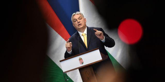 VIktor Orbán ATTILA KISBENEDEK / TT NYHETSBYRÅN