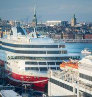 Viking Line-fartyget Grace. LEIF R JANSSON / TT / TT NYHETSBYRÅN