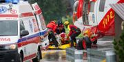 Ambulanshelikopter i Tatrabergen. PIOTR KORCZAK / AFP