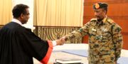 Rådets ordförande Abdel Fattah al-Burha svärs in på onsdagen - / SUDAN PRESIDENTIAL PALACE