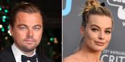 Leonardo DiCaprio och Margot Robbie TT