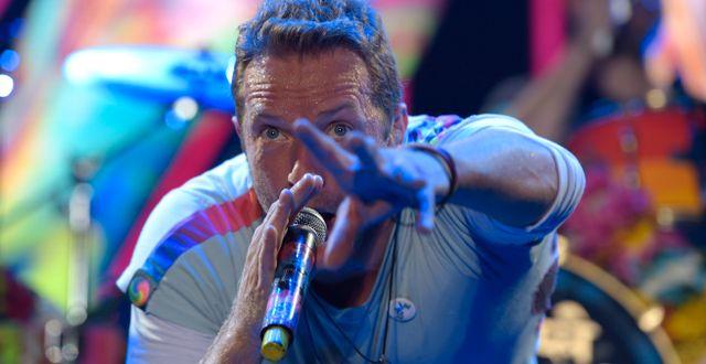 Coldplay-sångaren Chris Martin Jens Meyer / TT NYHETSBYRÅN