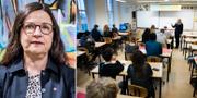 Anna Ekström (S), gymnasieminister  TT