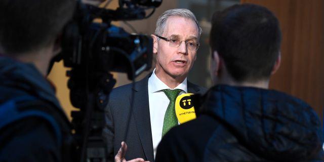 Rickard Gustafson, SAS vd.  TT NEWS AGENCY / TT NYHETSBYRÅN