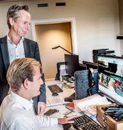 Martin Carlesund, vd för Evolution. Tomas Oneborg/SvD/TT / TT NYHETSBYRÅN