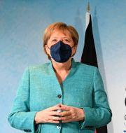 Angela Merkel och Boris Johnson. Stefan Rousseau / TT NYHETSBYRÅN