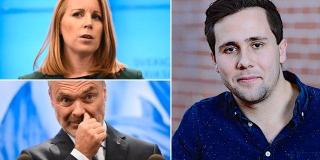 Sverigedemokraterna var ju faktiskt med och röstade bort Stefan Löfven, TT