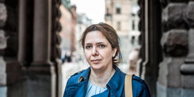 Vida Mehrannia. Arkivbi Tomas Oneborg/SvD/TT / TT NYHETSBYRÅN