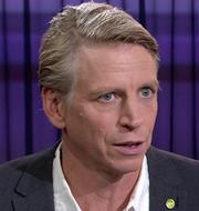 Per Bolund och Jimmie Åkesson.  SVT/TT