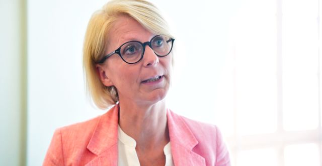 Moderaternas ekonomisk-politiska talesperson, Elisabeth Svantesson.  Henrik Montgomery/TT / TT NYHETSBYRÅN