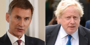 Jeremy Hunt och Boris Johnson TT