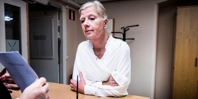 Kristina Axén Olin, Moderaternas utbildningspolitiska talesperson. Magnus Hjalmarson Neideman/SvD/TT / TT NYHETSBYRÅN