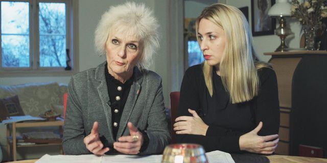 Maria och Elizabeth Morseby. Cataláns mamma och lillayster. Arkivbild. SVT/Uppdrag granskning