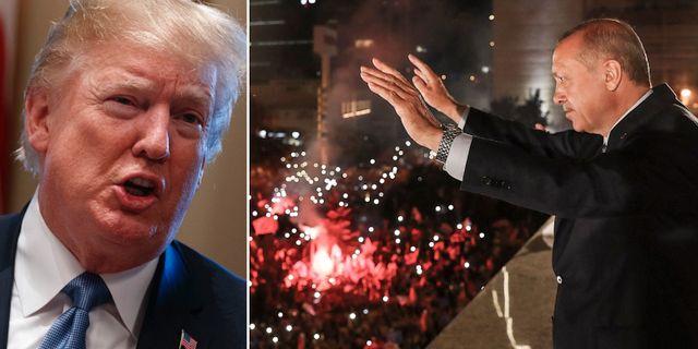 Donald Trump/Recep Teyyip Erdogan. TT