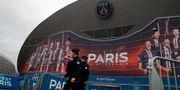 Inget mer spel i den franska ligan denna säsong. Christophe Ena / TT NYHETSBYRÅN