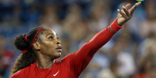 Serena Williams. MATTHEW STOCKMAN / GETTY IMAGES NORTH AMERICA