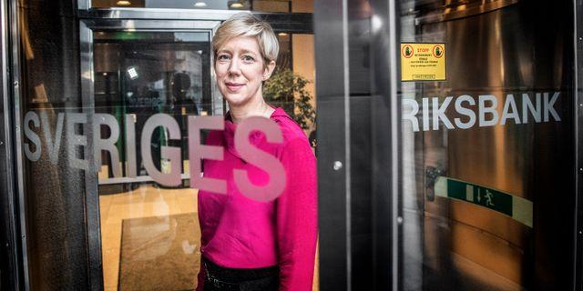 Anna Breman, ny vice riksbankschef.  Tomas Oneborg/SvD/TT / TT NYHETSBYRÅN