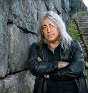 Mikkey Dee, legendarisk hårdrocktrummis som spelat med Motörhead och numera är med i Scorpions.  Claudio Bresciani/TT / TT NYHETSBYRÅN
