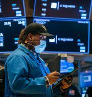 Investeraren Thomas Lee på New York Stock Exchange, 2021. Courtney Crow / TT NYHETSBYRÅN