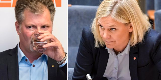 Axel Josefson/Magdalena Andersson. TT
