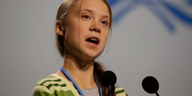 Greta Thunberg. Paul White / TT NYHETSBYRÅN