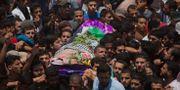 Razan Najjar begravdes i helgen. Khalil Hamra / TT / NTB Scanpix