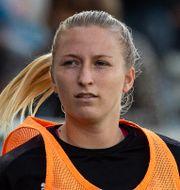 Hailie Mace gjorde Kristianstads mål. CHRISTOFFER BORG MATTISSON / BILDBYRÅN