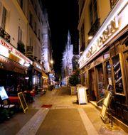 Tom gata i Paris. Arkivbild.  Åserud, Lise / TT NYHETSBYRÅN