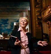 Birgitta Svendén, vd för Kungliga Operan. Anders Wiklund/TT / TT NYHETSBYRÅN