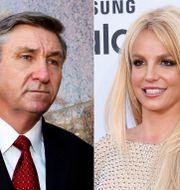 Jamie Spears och Britney Spears/Arkivbild TT NYHETSBYRÅN