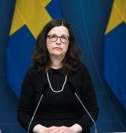 Anna Ekström. Fredrik Sandberg/TT / TT NYHETSBYRÅN