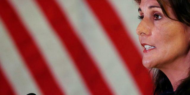 USA:s FN-ambassadör Nikki Haley, arkivbild. ADNAN ABIDI / TT NYHETSBYRÅN