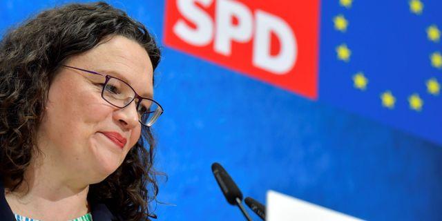 Andrea Nahles. TOBIAS SCHWARZ / AFP